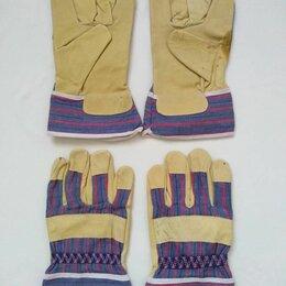 Средства индивидуальной защиты - Спилковые комбинированные перчатки, 0