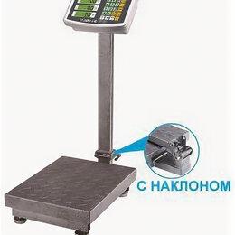 Весы - Весы счетные платформенные электронные с наклоном 150 кг, 0