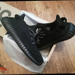 Кроссовки и кеды - Adidas YEEZY BOOST 350 V2 Black Reflective, 0