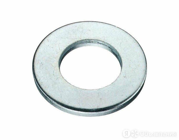 Шайба плоская оцинкованная М4 DIN125 по цене 203₽ - Шайбы и гайки, фото 0