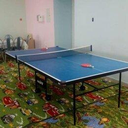 Столы - Теннисный стол с сеткой Wips Royal-C 61021-С, 0