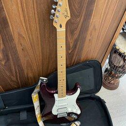 Электрогитары и бас-гитары - Гитара Fender Stratocaster SSH  Фендер Страт Мексиканец, 0