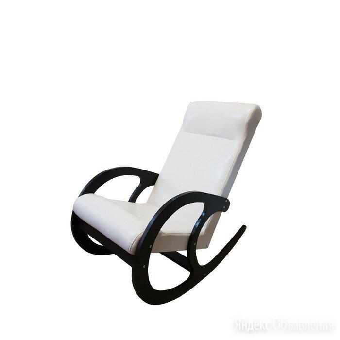 Кресло-качалка София, 530х1000х850, Светлый/ Венге по цене 12435₽ - Плетеная мебель, фото 0