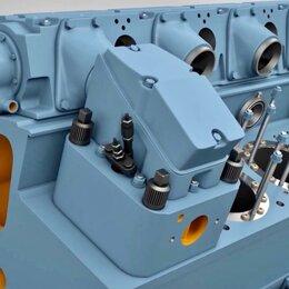 Двигатель и комплектующие - КРЫШКА ЦИЛИНДРА 5Д49.78СПЧ, 0