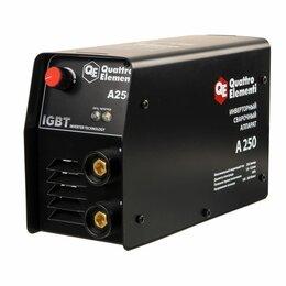 Сварочные аппараты - Инверторный аппарат электродной сварки QUATTRO ELEMENTI A 250, 0