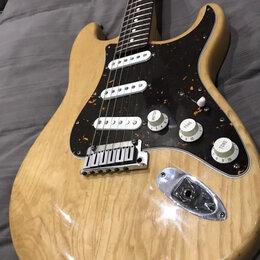 Электрогитары и бас-гитары - Fender standard stratocaster USA 1997 Ash ясень, 0