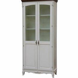 Стеллажи и этажерки - Шкаф книжный White Rose AS6610 (D71+M01), 0
