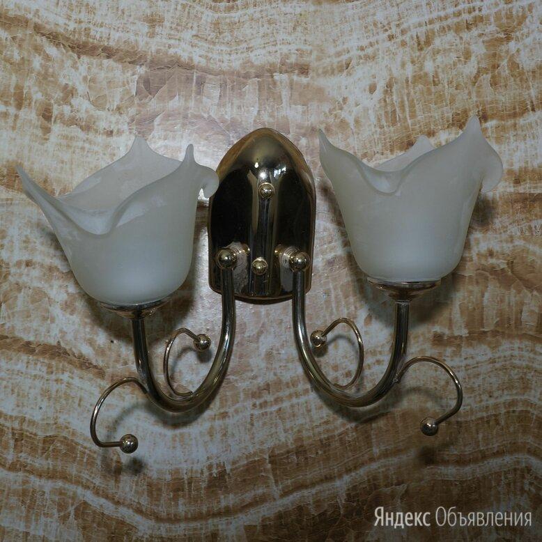 КРАСИВОЕ БРА НА 2 ЛАМПЫ по цене 300₽ - Бра и настенные светильники, фото 0