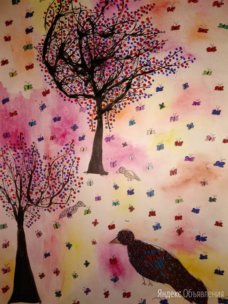 Рисунок Весна по цене 300₽ - Картины, постеры, гобелены, панно, фото 0