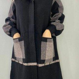 Пальто - Женское кашемировое пальто р-ры 50-62, 0