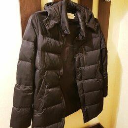 Пуховики - Пуховик мужской чёрный (настоящий Calvin Klein Jeans), 0