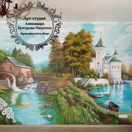 Дизайн, изготовление и реставрация товаров - Художественная роспись стен, услуги художника, 0