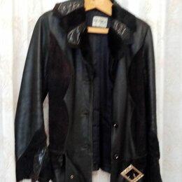 Куртки - женская куртка кожаная, 0