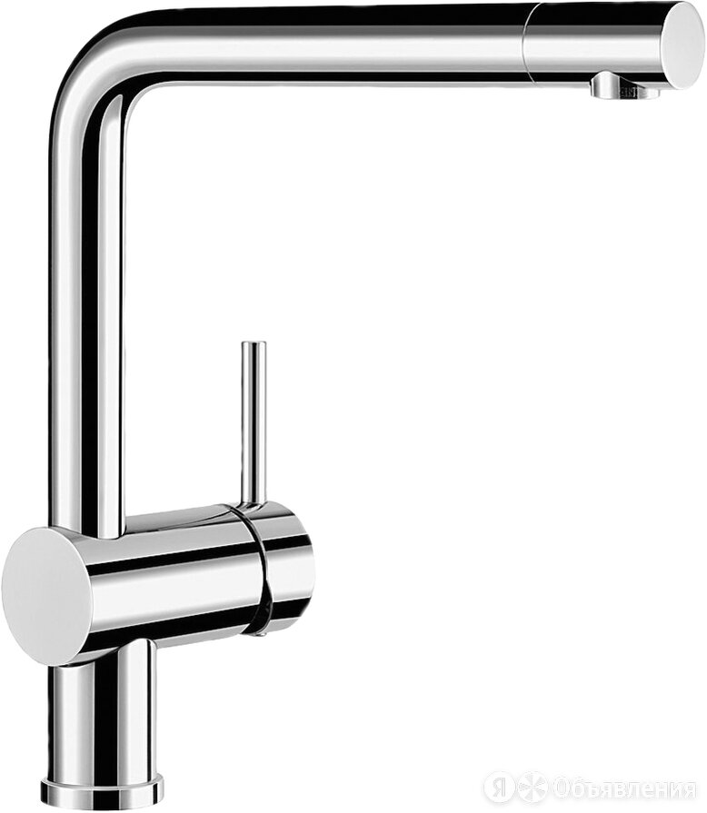 Смеситель Blanco Linus 514019 для кухонной мойки по цене 29300₽ - Краны для воды, фото 0