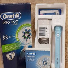 Электрические зубные щетки - Зубная щётка Oral-B Pro 500 CrossAction, 0