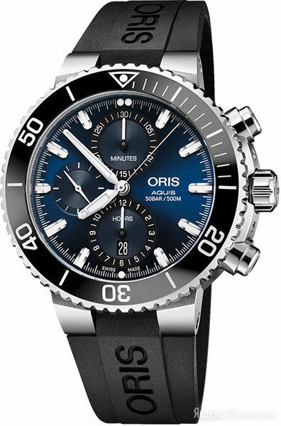 Наручные часы Oris 774-7743-41-55RS по цене 319700₽ - Умные часы и браслеты, фото 0