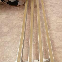 Карнизы и аксессуары для штор - Карниз для штор, 4-шт, алюминий, крючки. , 0