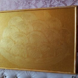 """Картины, постеры, гобелены, панно - Картина большая """" Фантазия золотые яблоки """", 0"""