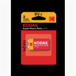 Батарейки - Элемент питания Kodak 6F22-1BL HEAVY DUTY  [ K9VHZ-1B](10/50/10200), 0