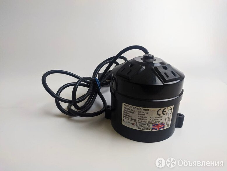 Понижающий автотрансформатор Tacima Sc 5424/2 по цене 1400₽ - Автотрансформаторы, фото 0