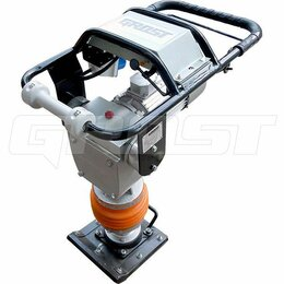 Вибротрамбовочное оборудование - Электрический трамбовщик GROST TR90Е1, 0