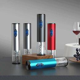 Штопоры и принадлежности для бутылок - Электрический штопор, алюминий, 0