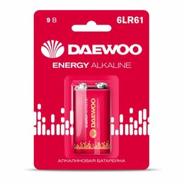 Батарейки - Алкалиновая батарейка Daewoo ENERGY Alkaline 2021, 0
