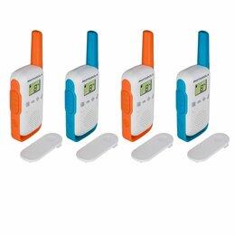 Рации - Комплект радиостанций Motorola T42 QUAD TALKABOUT, 0