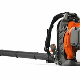 Воздуходувки и садовые пылесосы - Воздуходувка ранцевая Husqvarna 350 BT (9658775-01), 0