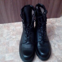 Ботинки - Кожаные берцы , 0