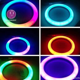 Камеры - Лампа кольцевая 26см (RGB) цветная, 0