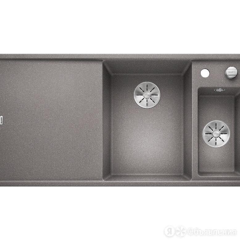 Мойка керамогранит BLANCO Axia III 6S алюметаллик (1000х510) доска стек., кла... по цене 65600₽ - Кухонные мойки, фото 0