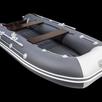 Лодка Таймень LX 3600 НДНД графит светло/серый по цене 48070₽ - Надувные, разборные и гребные суда, фото 2