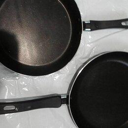 Сковороды и сотейники - Сковорода 2 штуки новые - 24 и 26 см комплект, 0