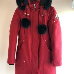 """Пуховики - Женская фирменная куртка """"«Moose Knuckles», 0"""