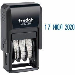 Сопутствующие товары - Ленточный датер с цифрами «Trodat» пластик.3,8мм.русский 4810, 0