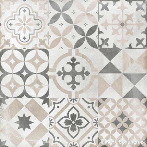 керамогранит цемент стайл многоцветный орнамент 45*45 (1,42м2/36,92м2) 6046-0359 по цене 899₽ - Плитка из керамогранита, фото 0