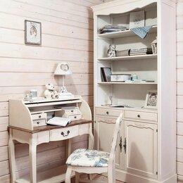 Стеллажи и этажерки - Стеллаж для кабинета в стиле прованс Belveder ST9330, 0