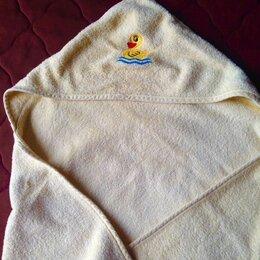 Полотенца - Полотенце-уголок (с капюшоном) для малыша, 0