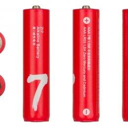 Батарейки - Батарейка алкалиновая Xiaomi ZMI ZI7 тип AAA мизинчиковая 1шт., 0