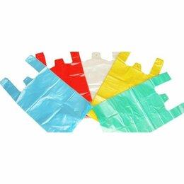 Упаковочные материалы - пакет майка в ассортименте упаковка 100шт, 0