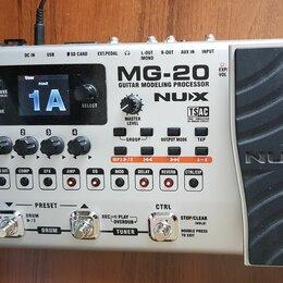 Процессоры и педали эффектов - Гитарный процессор эффектов NUX MG-20., 0