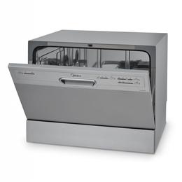 Посудомоечные машины - Компактная посудомоечная машина Midea MCFD55200S, 0