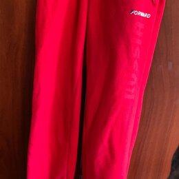 Брюки - Красные спортивные штаны, 0