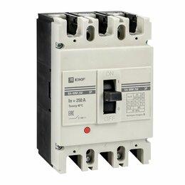 Концевые, позиционные и шарнирные выключатели - Выключатель автоматический ВА99М/250 250А 3Р 25кА ЭКФ, 0