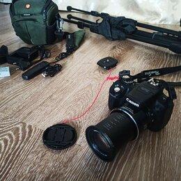 Фотоаппараты - Canon PowerShot SX50 HS (zoom x200) с допами, комплект., 0