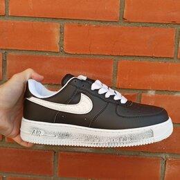 Кроссовки и кеды - Nike air force 1 low 82 black, 0