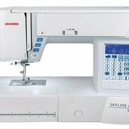 Оверлоки и распошивальные машины - Швейная машина Janome SKYLINE S-3, 0