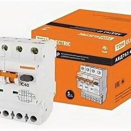 Защитная автоматика - Автоматические выключатели дифференциального тока TDM Диф.авт. выкл. АВДТ 63 ..., 0