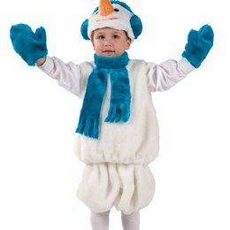 Костюмы - Костюм карнавальный Снеговик детский БТК-137, 0